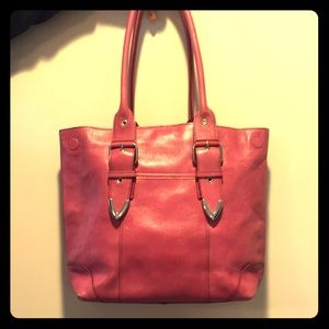 Pink Wilsons Leather Tote